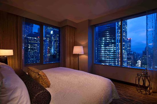 Intercontinental New York Sky View Room