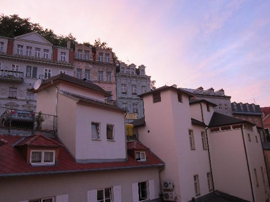 Hotel Romance Puskin: View from our window - Room 114