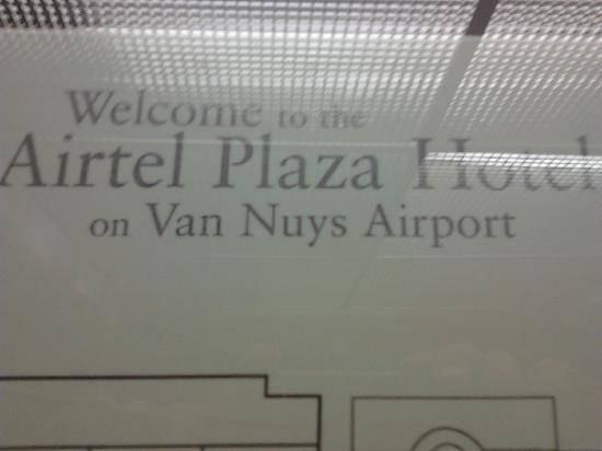 Airtel Plaza Hotel: welcom in Airtel Hotel