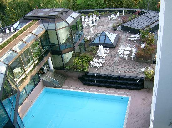 Piscina scoperta e solarium bild von allg u stern hotel for Hotel in sonthofen und umgebung