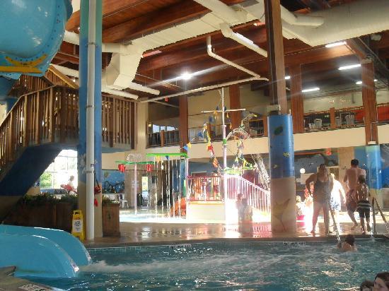 Holiday Inn Express South: waterpark