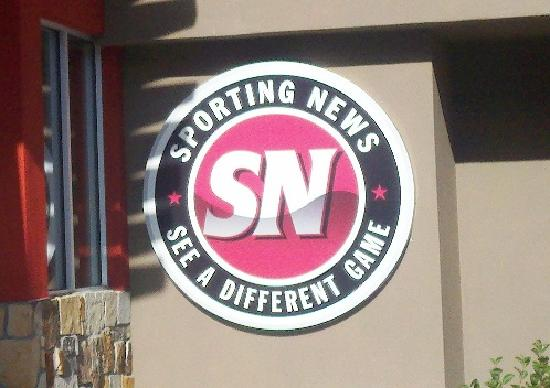 Sporting News Grill: Marquee Sign