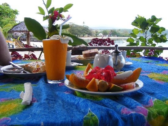 Savaii Lagoon Resort: Breakfast