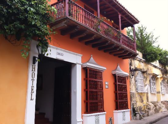 Hotel Casa del Curato : Street View