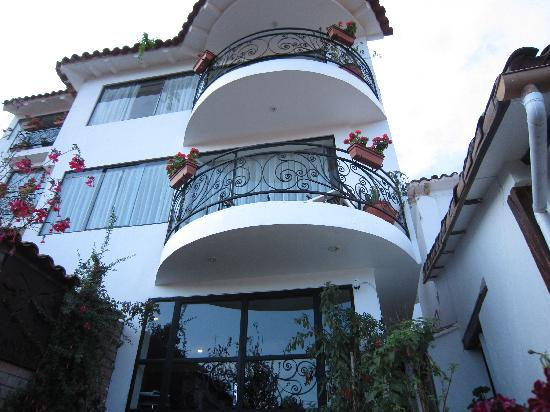 Encantada Casa Boutique Spa : Front of hotel