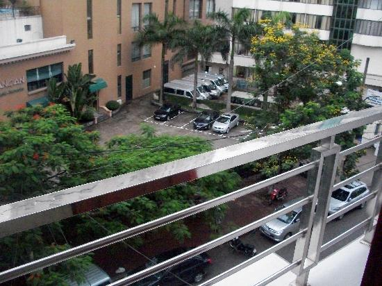 Ky Moi Hotel : Double-room's balcony