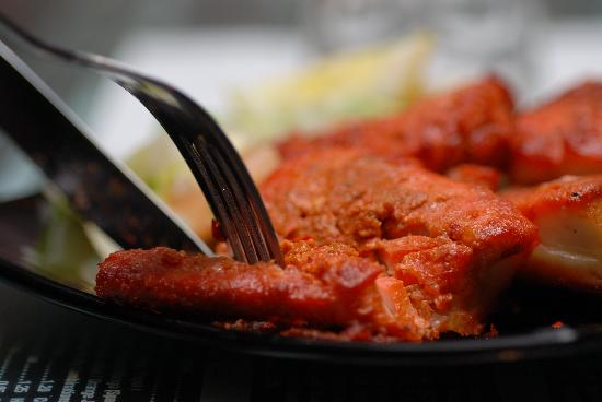 Shababs Balti Restaurant: Tandoori Fish... Exquisite!