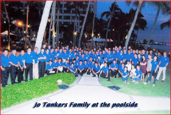 Sofitel Philippine Plaza Manila: Jo Tankers Family at the poolside