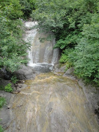 Kamuiwakka Hot Waterfall