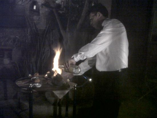 Ambato, Ecuador: La cena