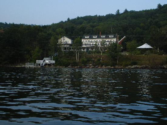 Inn on Newfound Lake: Inn from the Lake