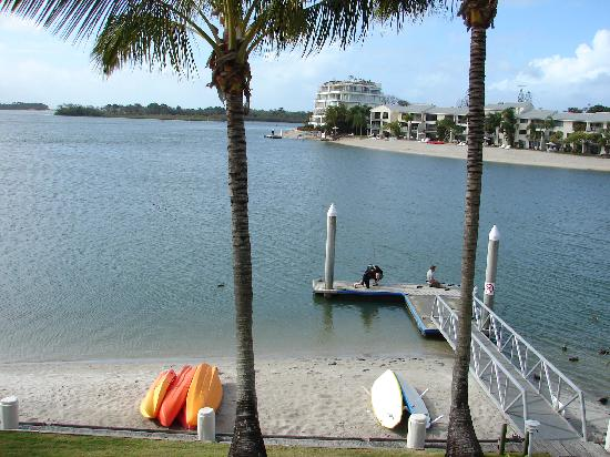 Noosa Pacific Riverfront Resort: View from the apartment