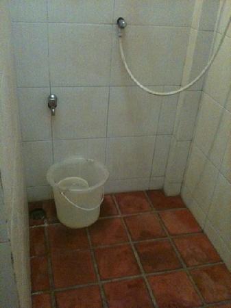 Tubtim Resort : la douche