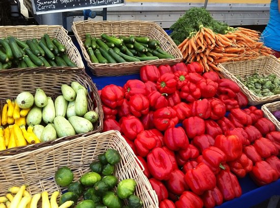 Corvallis, OR: local organic produce
