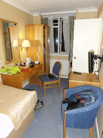 Best Western Burns Hotel Kensington: シングルルーム
