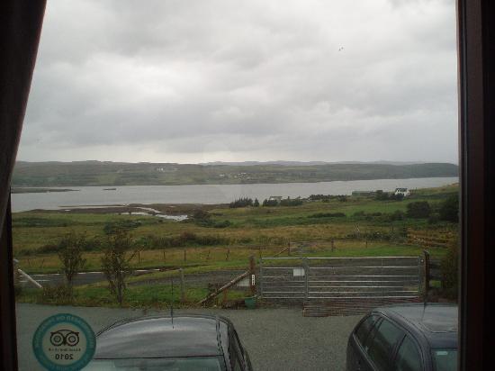 Dun Eighre : vista su loch -con pubblicità occulta di TA! - :D