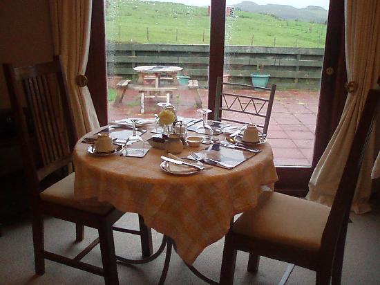 Dun Eighre : il tavolo per la colazione (che nostalgia!)