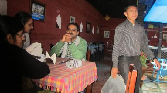 Hotel Encounter Nepal: Restaurant-we loved this place to take rest after our trips