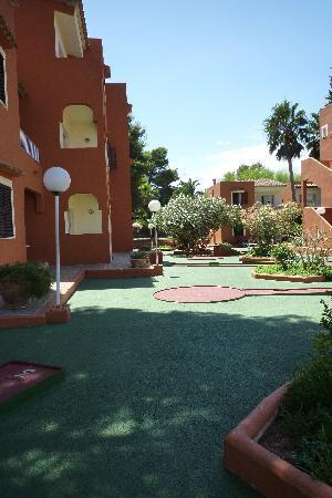HSM Club Torre Blanca : Minigolf