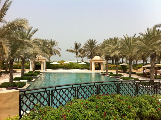 Residence & Spa at One&Only Royal Mirage Dubai: Pool view