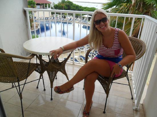 Garden Playanatural Hotel & Spa: En la terraza