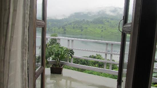 Begnas Lake Resort: lake view