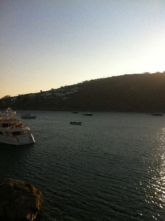 Nissaki Boutique Hotel: The view from our terrace