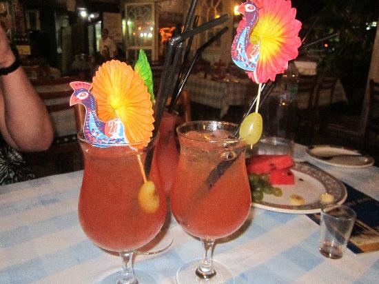 Romeo Garden Taverna: Pretty Cocktails