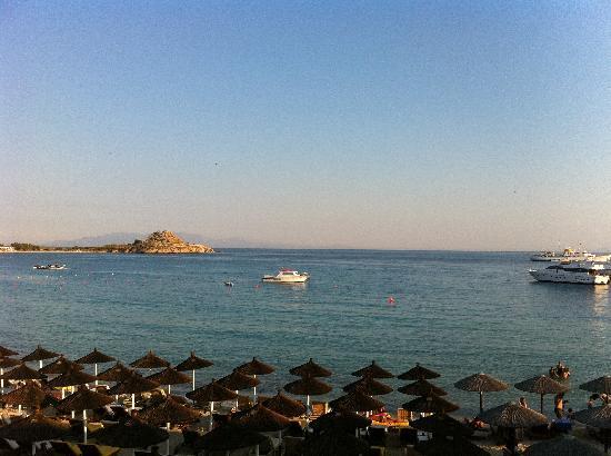 Mykonos Kosmoplaz: la vista dalla nostra camera appena svegli