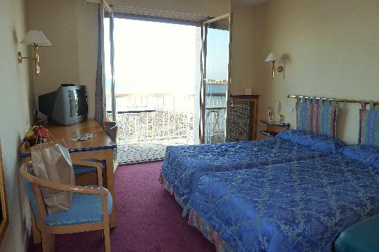 Hotel Les Brises : superbe vue de la chambre