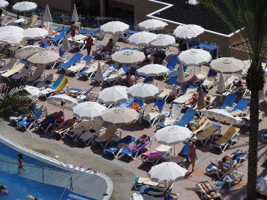 ClubHotel Riu Buena Vista: Sardines in a tin