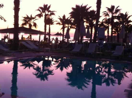 Louis Ledra Beach: view from adults pool