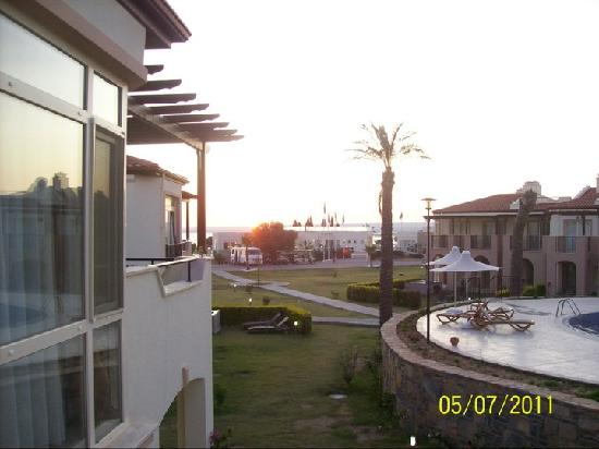 Milas, Turki: View from our apartment