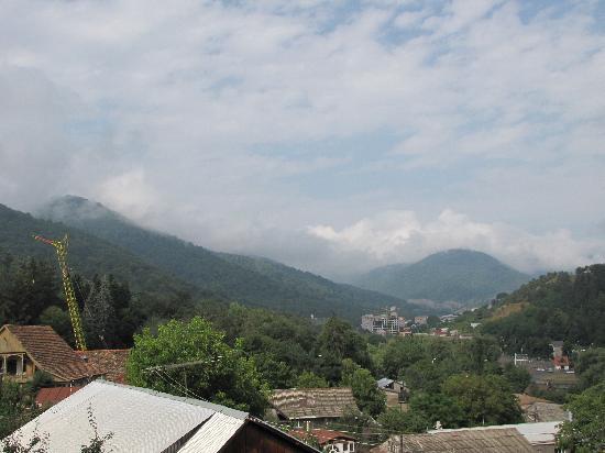 Dilijan, Armenia: view from balcony