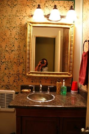 Media, PA: bathroom in heidi's room