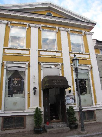 Villa Skogman Restaurant: Aussenansicht