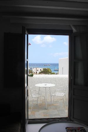 Anemi Hotel: le balcon et sa vue