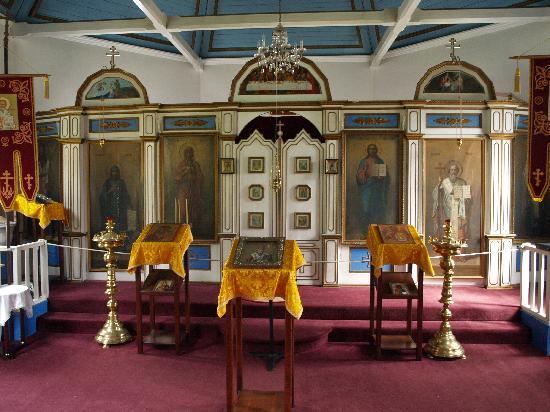St. Nicholas : Russische-Orthodoxe Kirche innen
