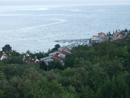 Hotel Villa Kapetanovic: view from room