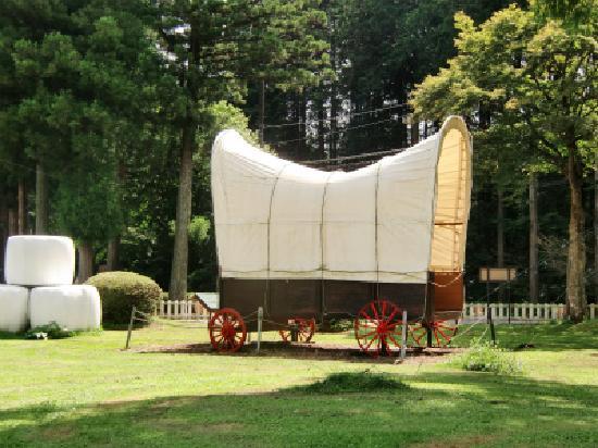 Senbonmatsu Ranch : 幌馬車