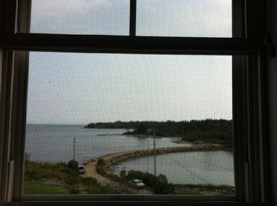 Craignair Inn at Clark Island: This pic doesn't capture the beautiful view, but it's just to give you an idea!