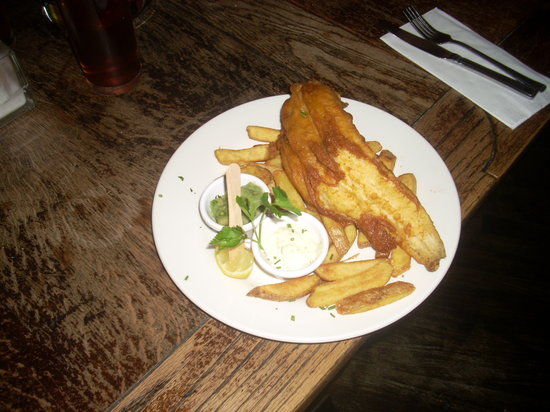 The Longacre : fish & chips