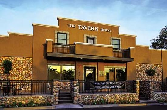 Front Of The Tavern Hotel