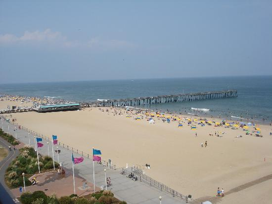 Four Points by Sheraton Virginia Beach Oceanfront: View from our room