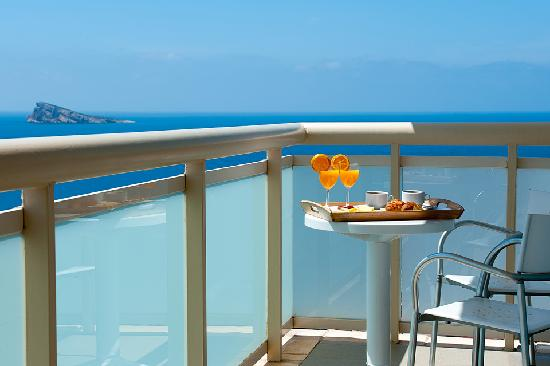 Hotel Benidorm Plaza: terraza