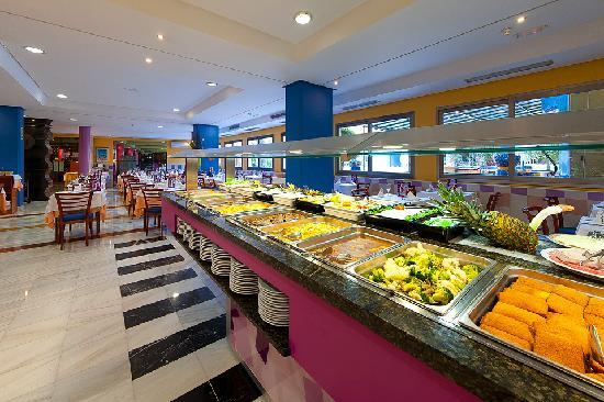 Hotel Benidorm Plaza : buffet
