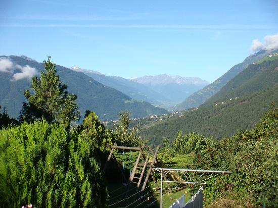 Pension Eichenhof : vista dal balcone
