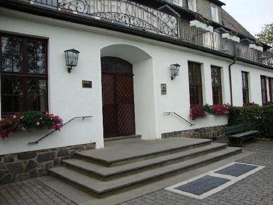 Berghotel Hoher Knochen: Eingangsbereich Hotel