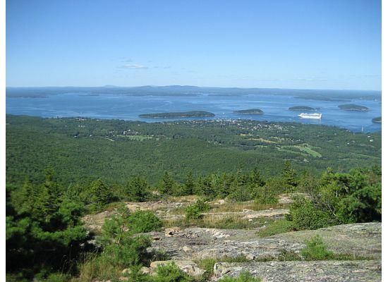 Views from Cadillac Mountain trail