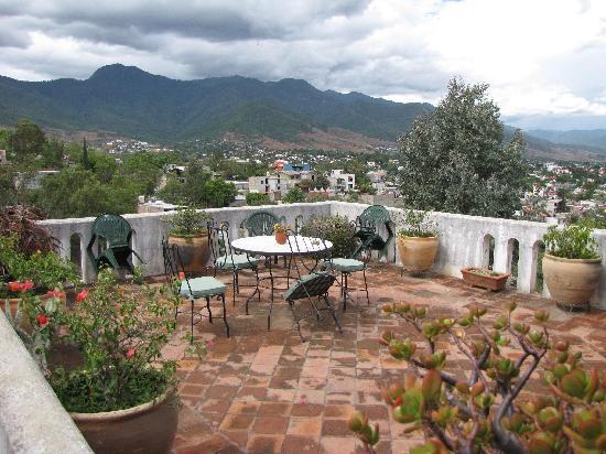 Casa Machaya Oaxaca Bed & Breakfast: View from the B&B